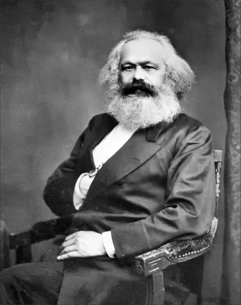 Karl Marx (* 5. Mai 1818 in Trier; † 14. März 1883 in London)