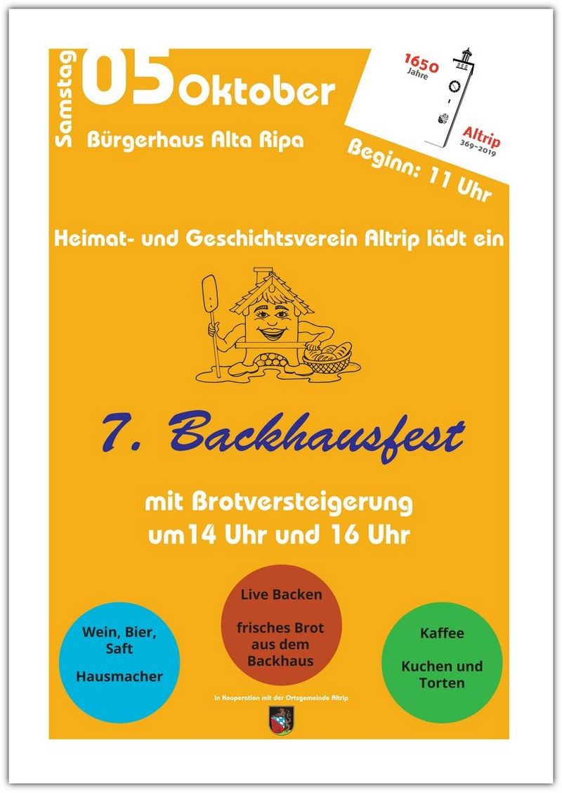 ALTRIPER BACKHAUSFEST 2019